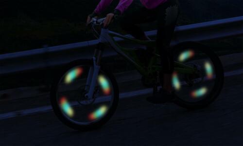 2-Pack Aduro Sport Cycling LED Bike Spoke Wheel Lights