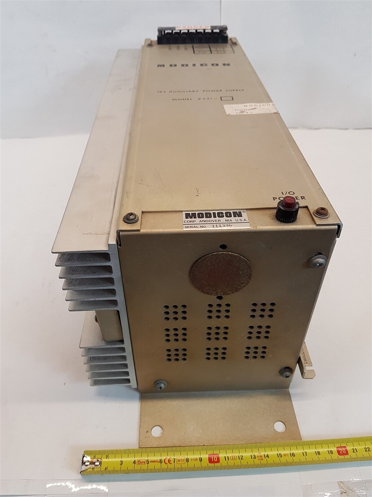 Remarkable Modicon 15A0069 184 Auxilliary Power Supply