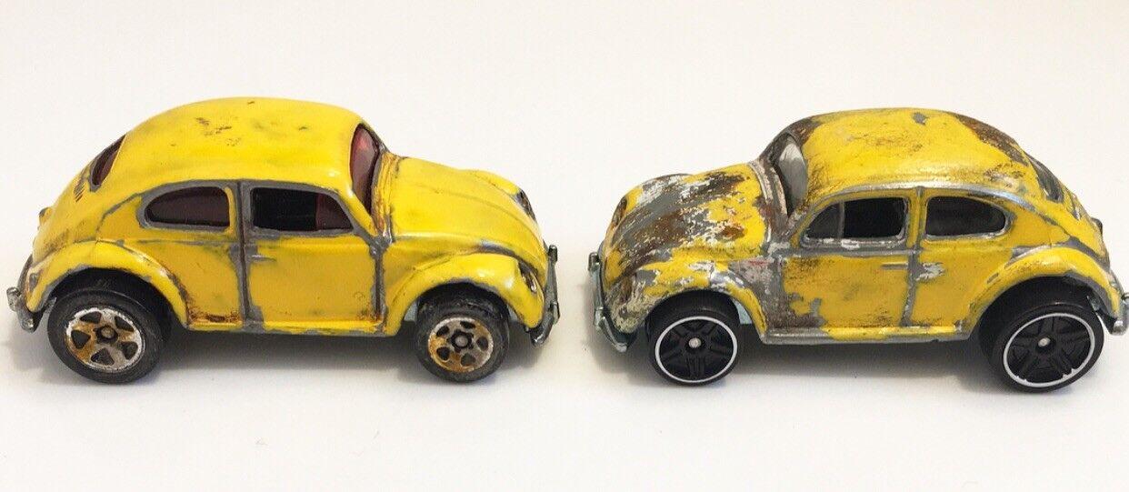 2018 Hot Wheels Volkswagen Bug 1988 2 Sets Bumblebee Movie Transformers Style