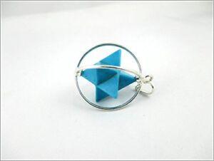 Jet-Turquoise-Spinning-Merkaba-Pendant-Star-Reiki-Energy-Sacred-Metaphysical