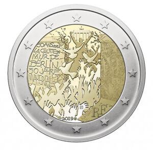 2-euro-commemorative-France-2019-30-ans-de-la-chute-du-mur-de-Berlin