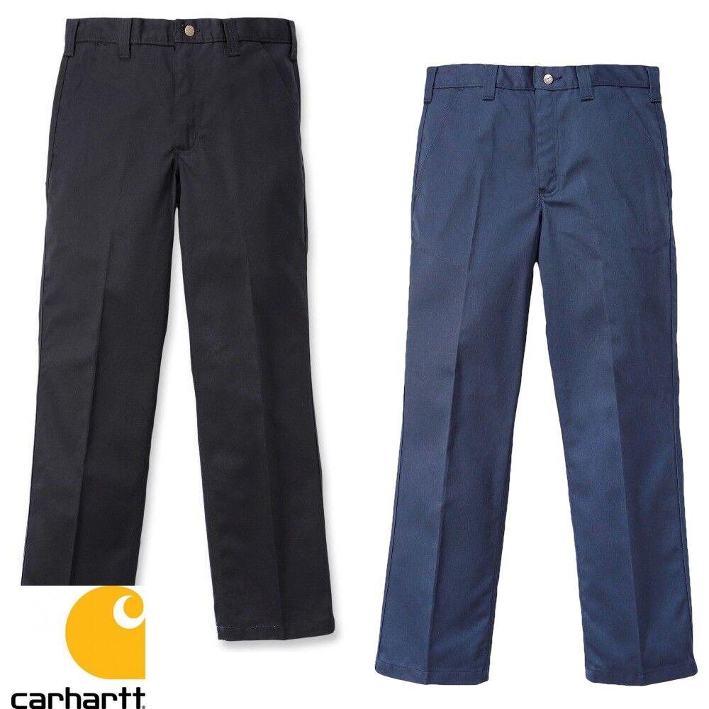 Carhartt Uomo Pantaloni Twill Lavoro - Resistente Allo Sporco e Piega Nuovo