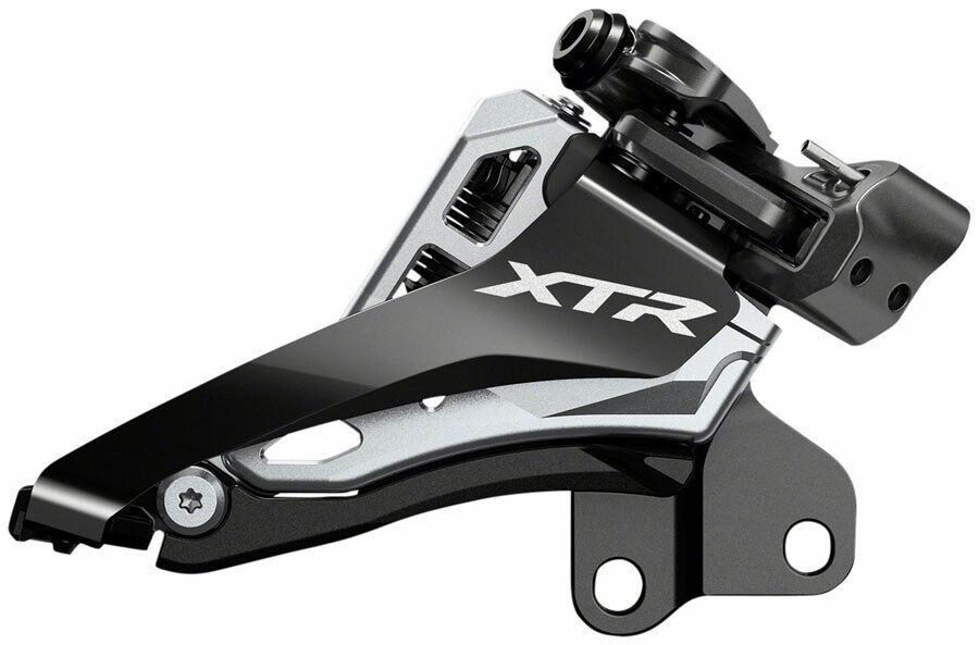 Shimano XTR M9100-E M9100-E M9100-E E2 Direct Mount 2x12 Front Side-Swing Derailleur b0c66f