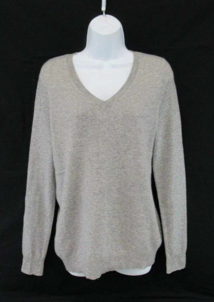 C by Bloomingdale's 100% 2-Ply Cashmere Sweater Women's Size M  C608