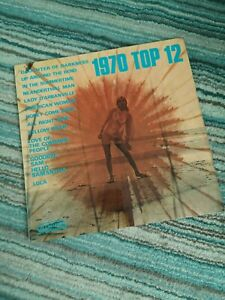 Elton John - 1970 Top 12 Rare Covers Vinyl LP Near Mint