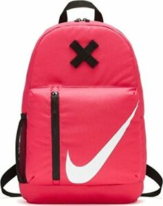 f353f2d0b285 Girls Nike Elemental Backpack Book School Gym Bag Rush Pink BA5405 ...