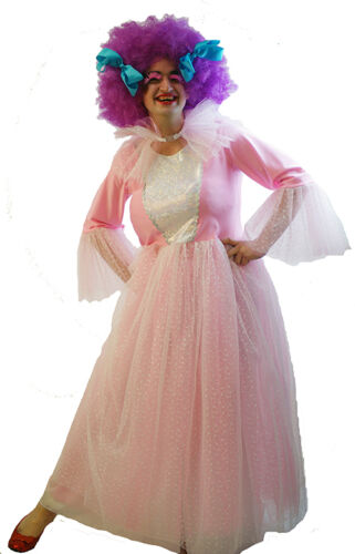 Panto-shows-Snow Queen-Ice Princess MALE PINK FAIRY GODMOTHER /& WIG