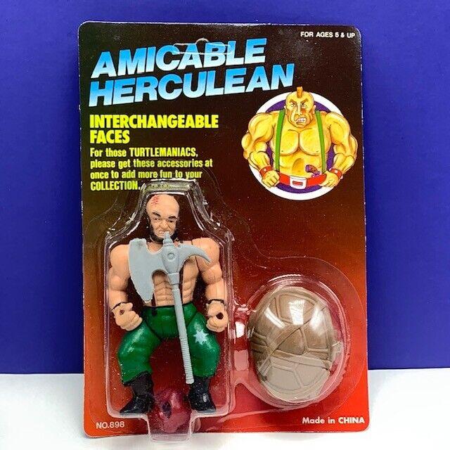 Amicable Herculean action figure moc teenage mutant mutant mutant ninja turtle head brain scar 5d44a3