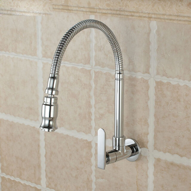 2019 Single Handle Kitchen Faucet Cold Water Faucet Wall Mounted Kitchen  Taps