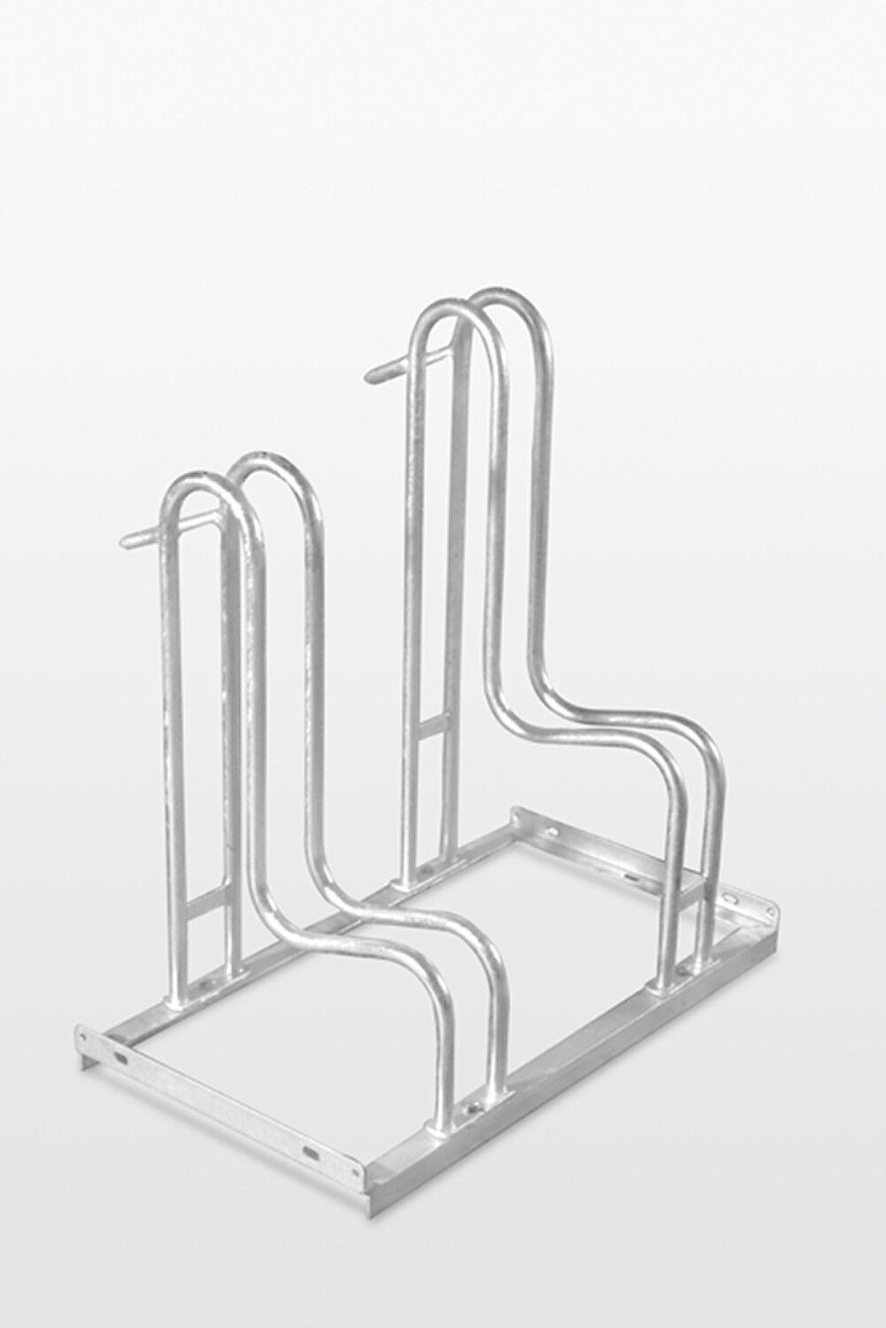 Fahrrad Ständer Fahrradständer Reihenparker ARIZONA 2 3 4 oder 6 Stellplätze