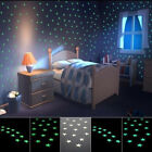 100PCS  Sticker Light Green Home Wall Glow In The Dark Star Stickers Decal Gift