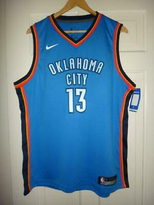 a43d32a02 Youth Nike Paul George  13 OKC Thunder Blue Swingman Jersey - Icon Edition