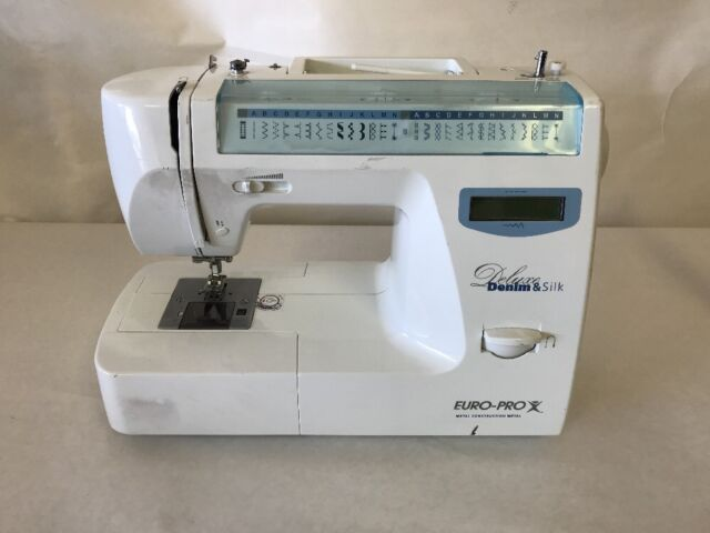 EuroPro 40A40 Denim Silk Deluxe Computerized Sewing Machine EBay Fascinating Euro Pro Denim And Silk Sewing Machine