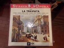 VERDI LA TRAVIATA ORCHESTRA E CORO DEL TEATRO DELL'OPERA DI ROMA 2 LP COFANETTO