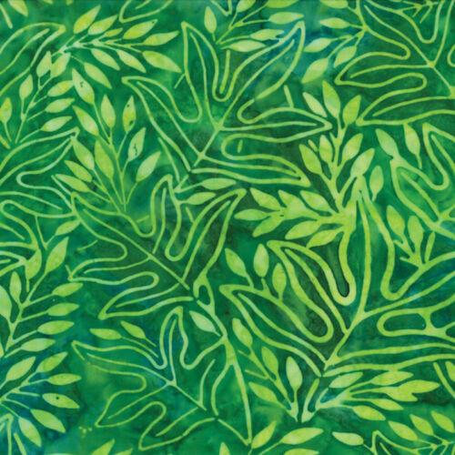 Leaf MODA Fabric ~ SUMMER VACATION BATIKS ~ by the 1//2 yard 4328 11