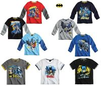 New Boys Official BATMAN Top T- Shirt  Age 3 4 5 6 7 8 9 10 11 Years BNWT