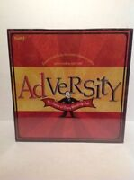 Fundex 2003 Adversity Board Game Hilarious Party Game Sealed Retails $34.99