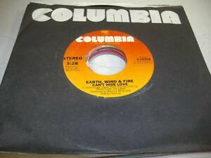 Soul-Unplayed-NM-45-EARTH-WIND-amp-FIRE-Can-039-t-Hide-Love-on-Columbia