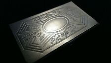 Hansaware Business Calling Card Case Holder Germany Art Deco Design