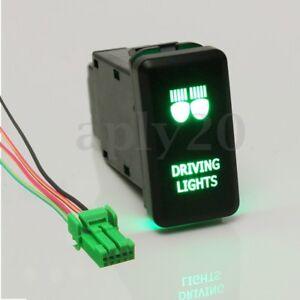 12V-DRIVING-LIGHT-LED-PUSH-SWITCH-FOR-TOYOTA-FJ-CRUISER-PRADO-HILUX-LANDCRUISER