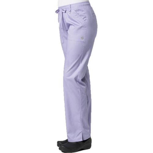 "Maevn Eon Cargo Scrub Pants 7308 Petite 28/"" Full Elastic Waist Sizes XS 3XL"