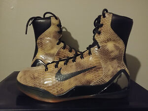 new styles a8534 303ca Image is loading 100-Authentic-Nike-Kobe-9-IX-High-EXT-