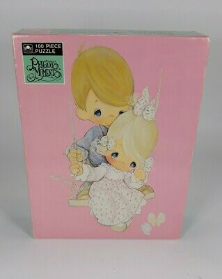 Vintage Precious Moments 100 Piece Puzzle He is my Song 1993 ~ New Sealed in Box
