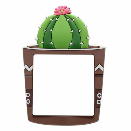 1pcs Kids Room Cartoon 3D Cactus Fluorescent Wall Silicone On-off Switch Sticker