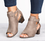 Roman-Womens-Open-Toe-Mid-Block-Heels-Ankle-Strap-Casual-Buckle-Mule-Sandal-Shoe thumbnail 10