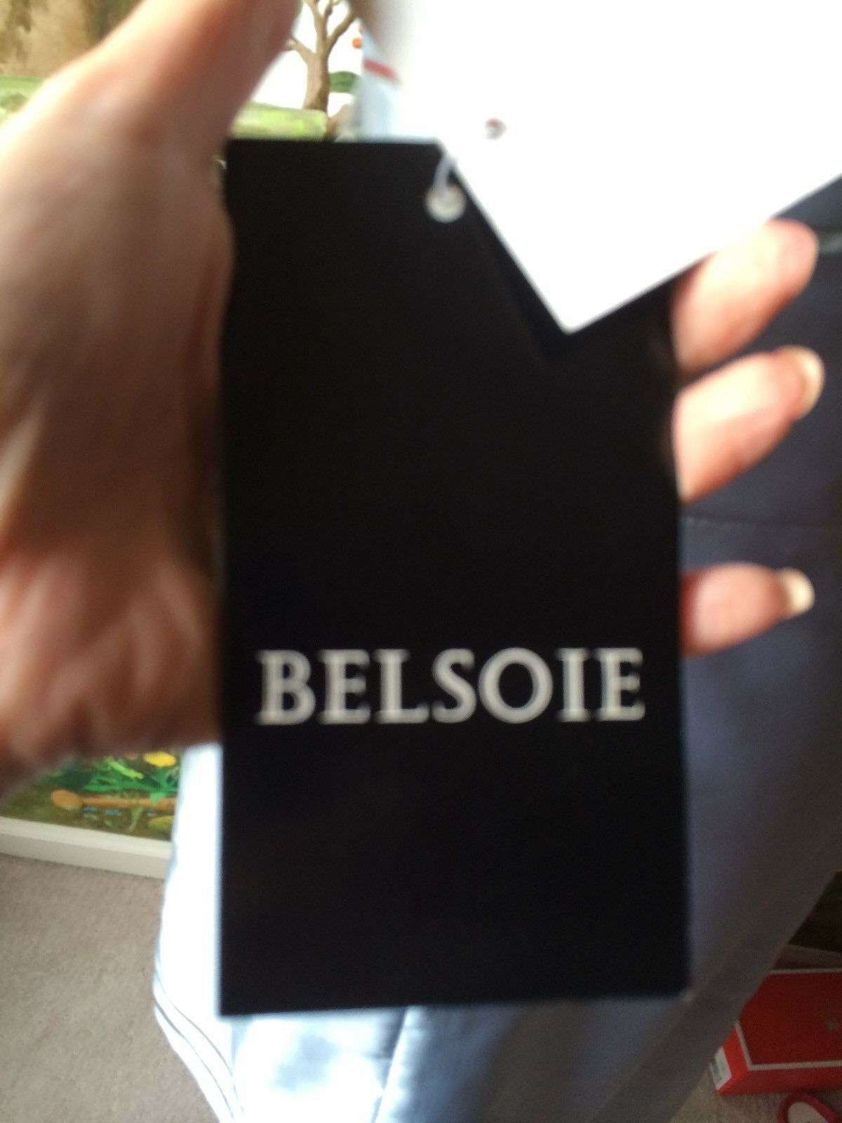 Belsoie Antique bluee Bridesmaid Prom Evening Satin Strapless Strapless Strapless Dress Size 8 85fb49