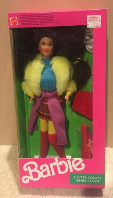 United Colors of Benetton KIRA Barbie - 1991 - Mattel #9409 - NRFB