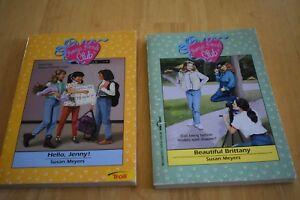 Vintage-Susan-Meyers-034-Always-Friends-Club-034-Books-2-Books