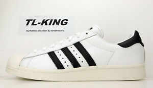 official photos aeae0 0d757 Image is loading Adidas-Originals-Superstar-Boost-White-Black-BZ0202-Msrp-