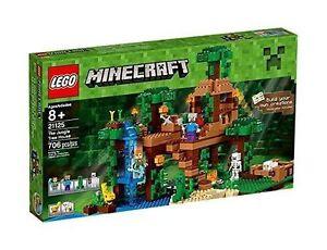 Lego Minecraft La cabane dans les arbres de la jungle 21125 Nouveau 736126907601