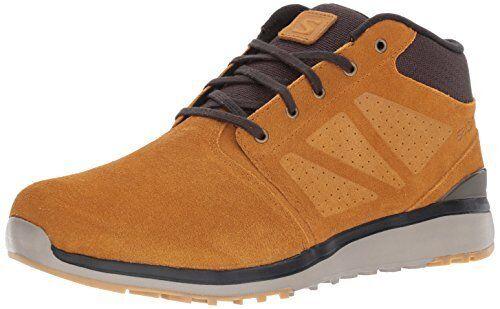 Salomon para hombre Utilidad Chukka WR Senderismo Zapato TS-Pick Talla Color.