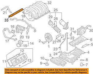 audi oem 08 12 r8 engine intake manifold gasket 079133074b ebay rh ebay com Audi TT Intake Manifold Gasket Audi Intake Manifold Cover