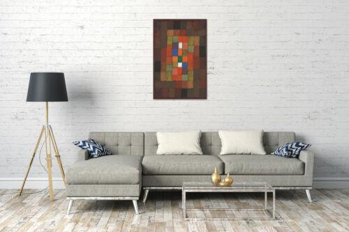 Statisch-Dynamische Steigerung 1923 Lein-Wand-Bild Kunstdruck Paul Klee