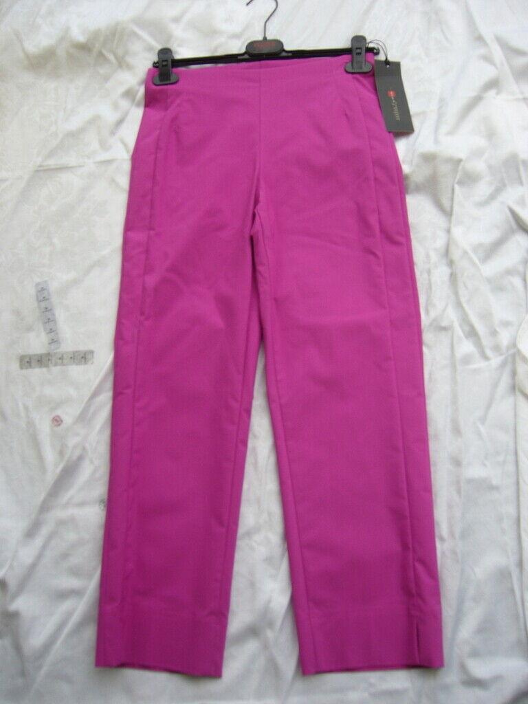 Minx Pantaloni Sona Sona Sona M 7 8 a Campana Celif Fucsia Tgl 36 UVP Nuovo con Etichetta 0ca3b6