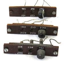 Quad II mains adjuster. Original part from a Quad II amplifier.