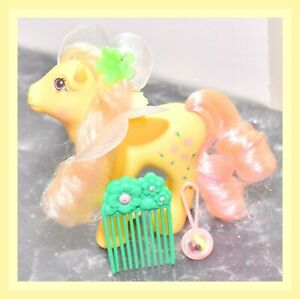 My-Little-Pony-MLP-G1-Vintage-FLUTTER-PONY-Queen-Rosedust-with-Wings-amp-Comb