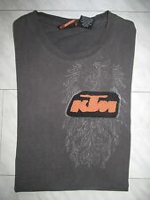 ORIGINAL KTM HARD EQUIPMENT T-SHIRT,Gr.S,USED OPTIK,TOLLE APPLIKATIONEN,TOP!!!