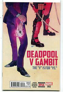 Deadpool-V-Gambit-2-NM-The-039-V-039-Is-For-039-VS-039-Acker-Blacker-Marvel-Comics-MD10
