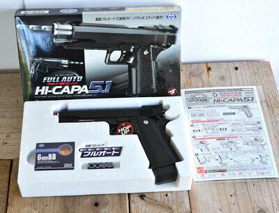 Tokyo Marui Hi-Capa 5.1 Automatic Electric Blow Back Full Auto Air Hand Gun