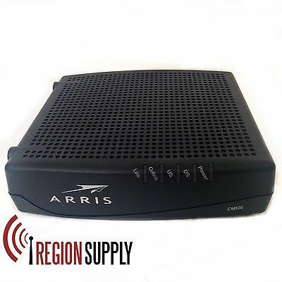 ARRIS CM820A Cable Modem Docsis 3.0 FOR PARTS! Not Working!!!