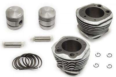 ZYLINDER MIT KOLBEN, für alle Ural 650ccm Motoren, EU-Qualität! (Kolbenringe)
