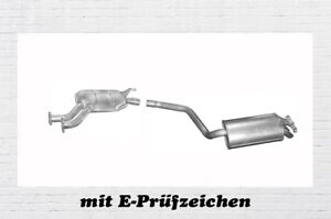 Montagesatz Auspuff Mercedes Benz 190 W201 2.0 2.0 D Endschalldämpfer Endtopf