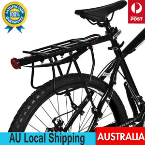 25kg Bicycle Mountain Bike Rear Rack Seat Mount Pannier Luggage Carrier MTB Road