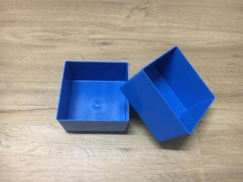 2 pièces Allit Europlus Insert 63//3 Bleu Einsatzbox taille 3 Assortiment encadrés 456307