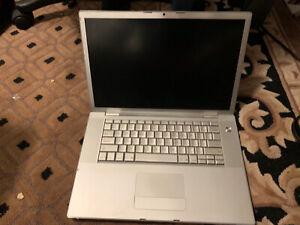 """BROKEN Apple MacBook Pro15.4"""" Laptop - MA896LL/A (June, 2007) No HD No Battery"""