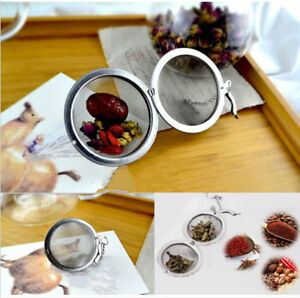 Infuseur-a-The-Acier-Inoxydable-Boule-Pass-Passoire-Maille-Filtre-Tea-Infuser-NF